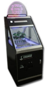 Supa Dupa Deluxe Coin Pusher Game Machine with Bill Changer