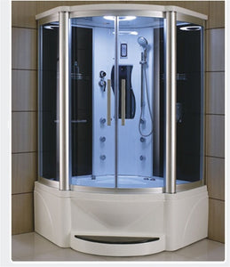 "Zen Brand New Victoria - Jetted Tub and Steam Shower 48"" x 48"" x 87"""