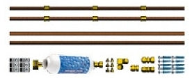 Brand New 48 FT Copper Professional Misting System