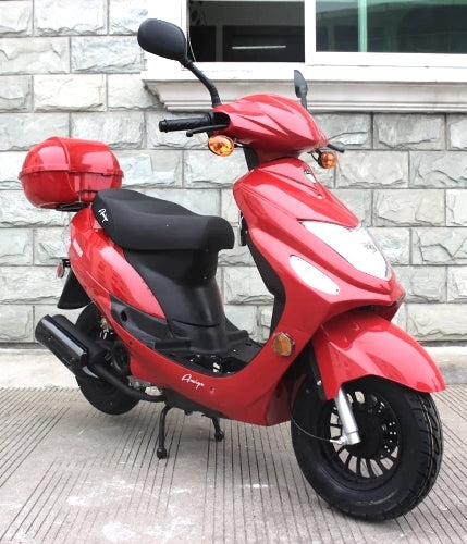 Znen 50cc 4 Stroke 3hp Gas Moped Scooter - Beemer 50