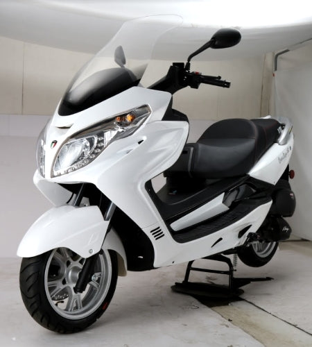 Amigo 150cc 4 Stroke 8.5hp Gas Moped Scooter w/USB MP3 & Speakers - Executive 150