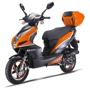 Znen 150cc 4 Stroke Gas Moped Scooter w/USB & Alarm - ZN150T-32A