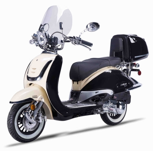 Znen 2 Tone 150cc 4 Stroke Gas Moped Scooter - Zn150T-G-2-Tone
