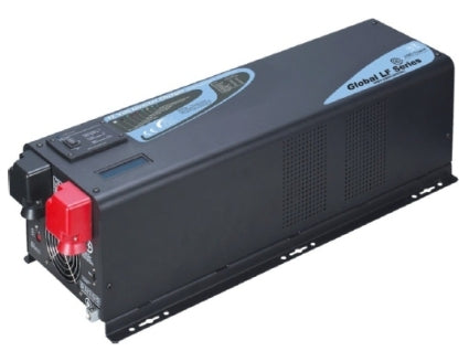 3000 Watt Pure Sine Low Frequency Solar Inverter Charger - 24 Volt