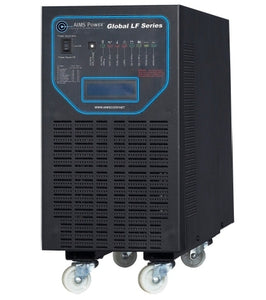 6000 Watt Pure Sine Low Frequency Solar Inverter Charger - 24 volt