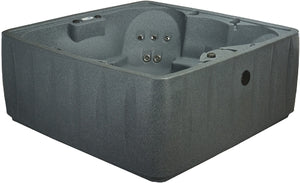 AquaRest Hot Tub Spa AR-600 6 Person 19-Jet Plug and Play Spa Jacuzzi