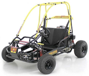 Brand New 136cc Black Widow 4-Stroke Go Kart w/ Full Suspension