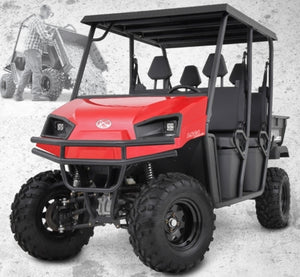 Brand New 700cc American LandStar LSC4 Gas Powered Crew Cab Utility Vehicle 4WD UTV - 4 Seater