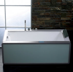 Freestanding Bathtub Ariel Platinum Whirlpool Bath Tub - AM151JDTSZ 71""