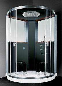 "Ariel Platinum Steam Shower 59"" x 59"" x 87.9"" - DZ984F9"