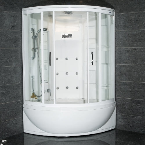 Ariel AmeriSteam White Steam Shower 47