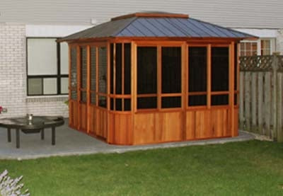 Brand New Forest View Hot Tub Enclosure Gazebo - 10' x 12'