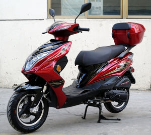 200cc Super 200 Gas Scooter Moped With Automatic Transmission