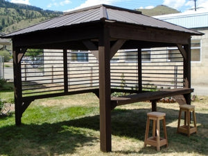 Aztec Palisades Hot Tub Gazebo 10' X 10'