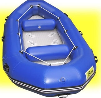 12.8' Blue Inflatable White Water River Raft