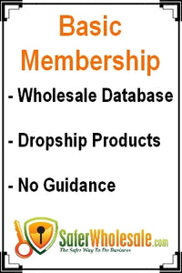 Basic SaferWholesale.com Membership - Monthly