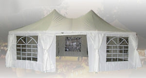 Brand New Heavy Duty 29'x21' Decagonal Party Wedding Tent Gazebo Canopy