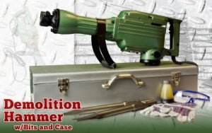 High Quality Electric Concrete Construction Demolition Jack Hammer With Bits & Case