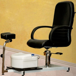 Brand New Pedicure Station With Chair, Footbath, and Stool