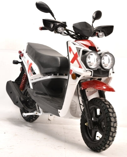 Brand New 150cc Boom Rugged 4 Stroke Moped Scooter