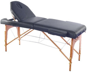 "Black 3"" Thick Soozier Portable Massage Table"