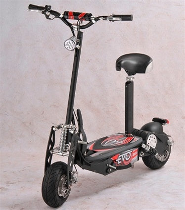 Black 800 Watts Foldable Electrical Scooter