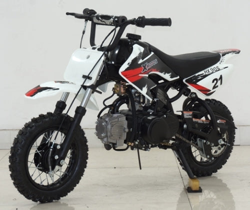 90cc Dirt Bike Semi Automatic Dirt Bike - HX90S
