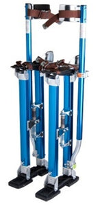 "Brand New Blue Adjustable Aluminum Drywall Stilts 18""-30"""