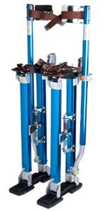 "Brand New Blue Adjustable Aluminum Drywall Stilts 24""-40"""