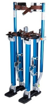 Brand New Blue Adjustable Aluminum Drywall Stilts 24