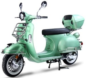 New 2015 Luxurious 150cc Chelsea 50's Vintage Style Moped Scooter