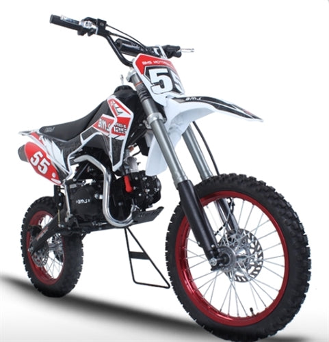125cc Dirt Bike Manual Racing Competition 4 Speed Pit Dirt Bike - BMS Pro - X 125