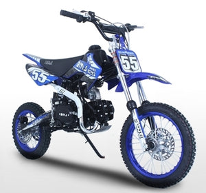 125cc 4 Speed Manual Kick Start Racing Competition Pit Dirt Bike - BMS Pro 125