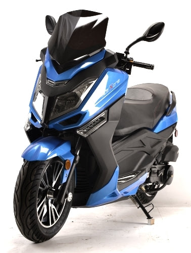 Flex ONE 150cc Scooter Air Cooled 4 Stroke With Radio, Alarm, MP3/USB & Subwoofer