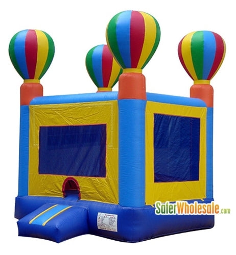 Commercial Grade 13' x 13' Inflatable Balloon Adventure Bouncer Bouncy House