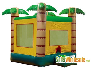 Commercial Grade 13' x 13' Inflatable Jungle Bouncer Bouncy House
