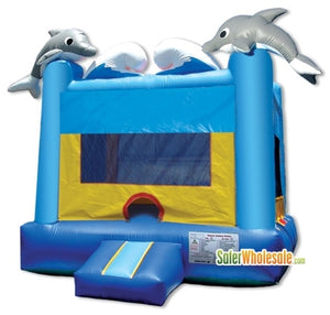 Commercial Grade 13' x 13' Inflatable Sea World Bouncer Bouncy House