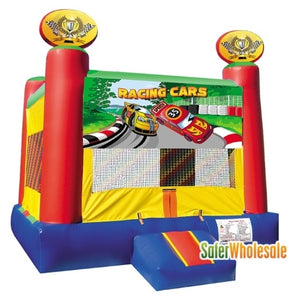 Commercial Grade 13' x 13' Inflatable Racing Cars Bouncer Bouncy House