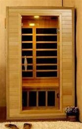 1-2 Person Sauna w/ Carbon Heaters
