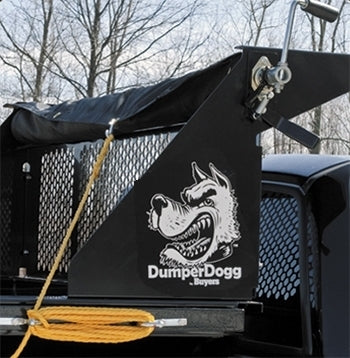 Dumper Dogg 5.4'  x 11.5' Tarp Roller Kit for 8' Steel Dump Insert