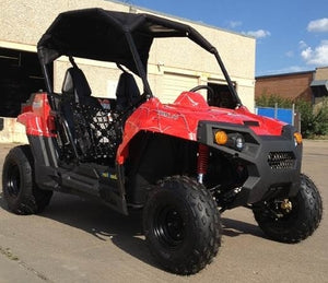 Gas Golf Cart UTV Hybrid 150cc Spider Utility Vehicle Extended Challenger Version