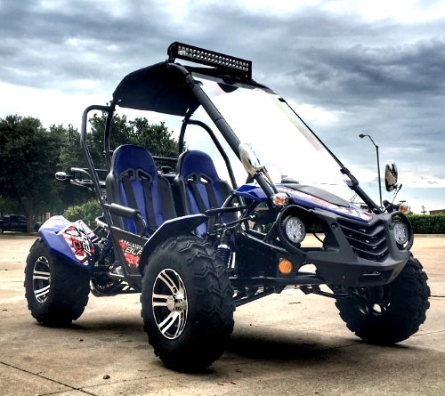 150cc Go Kart 2 Seater Trailmaster Blazer 150 X Automatic Trans. With Reverse - Adult Size