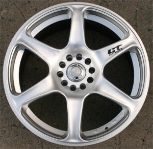 18 Inch Hyper Silver Automotive Rims 18