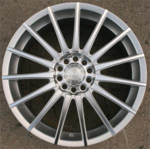18 Inch Silver Machined Automotive Rims 18
