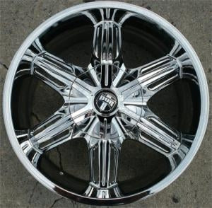 "18 Inch Triple Plated Chrome Automotive Rims 18"" Wheels - Set of 4"
