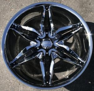"20 Inch Triple Plated Chrome Automotive Rims 20"" Wheels - Set of 4"