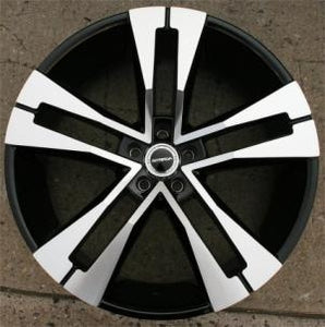 "22"" x 8.5"" Inch Gloss Black w/ Machined Face Automotive Rims 22"" Wheels - Set of Four"