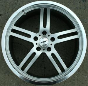 20 x 8.5 - Hyper Silver - RWD Automotive Rims - Set of Four