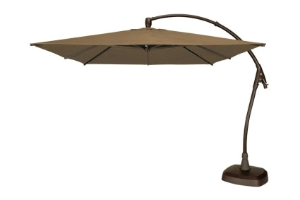 Seabrooke 10� Square Cantilever Umbrella w/ Base