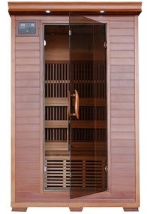 2 Person Yukon Infrared Sauna with Carbon Heaters